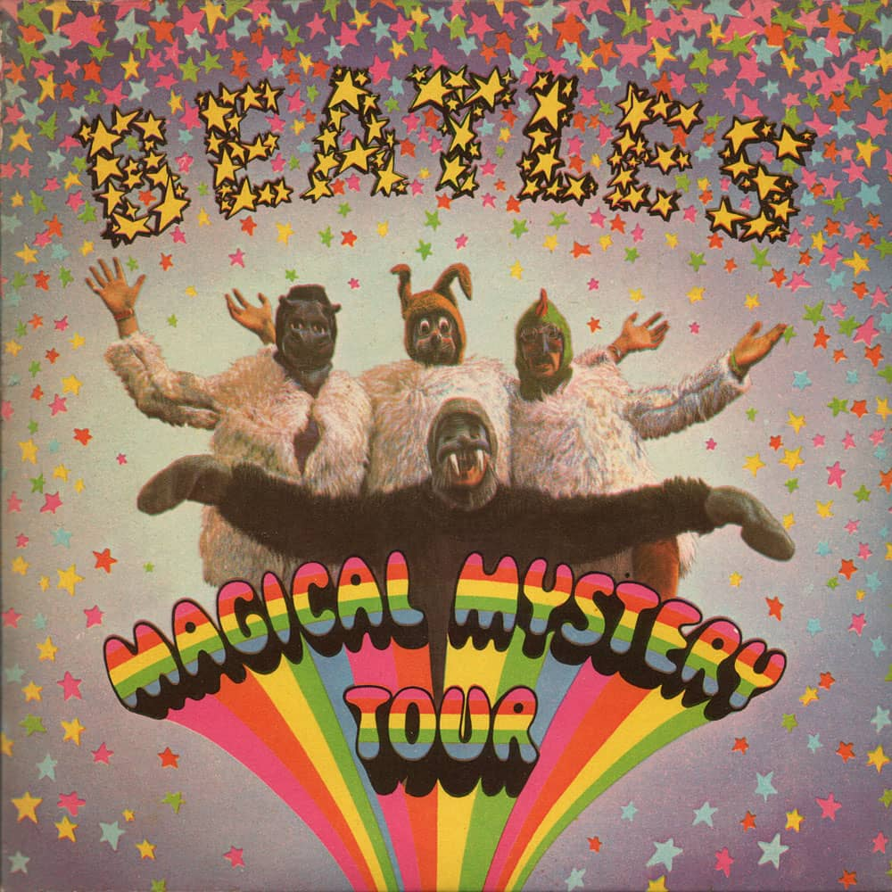 Magical Mystery Tour EP artwork