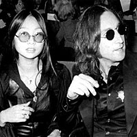 May Pang and John Lennon