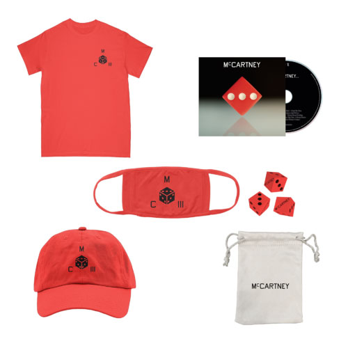 McCartney III CD bundle (UK) – red