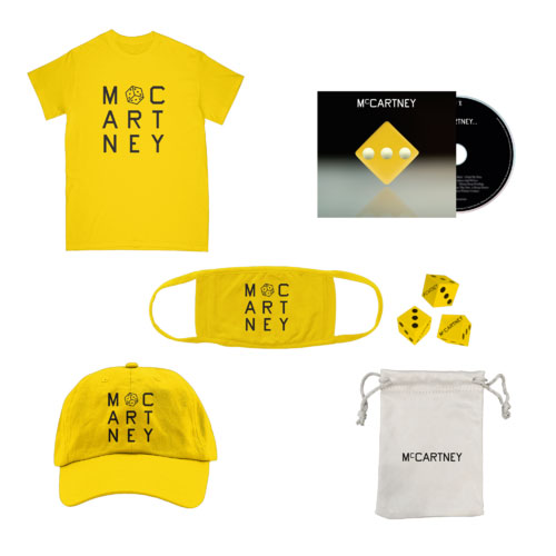 McCartney III CD bundle (UK) – yellow