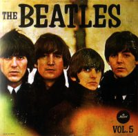 The Beatles Vol. 5 album artwork – Mexico