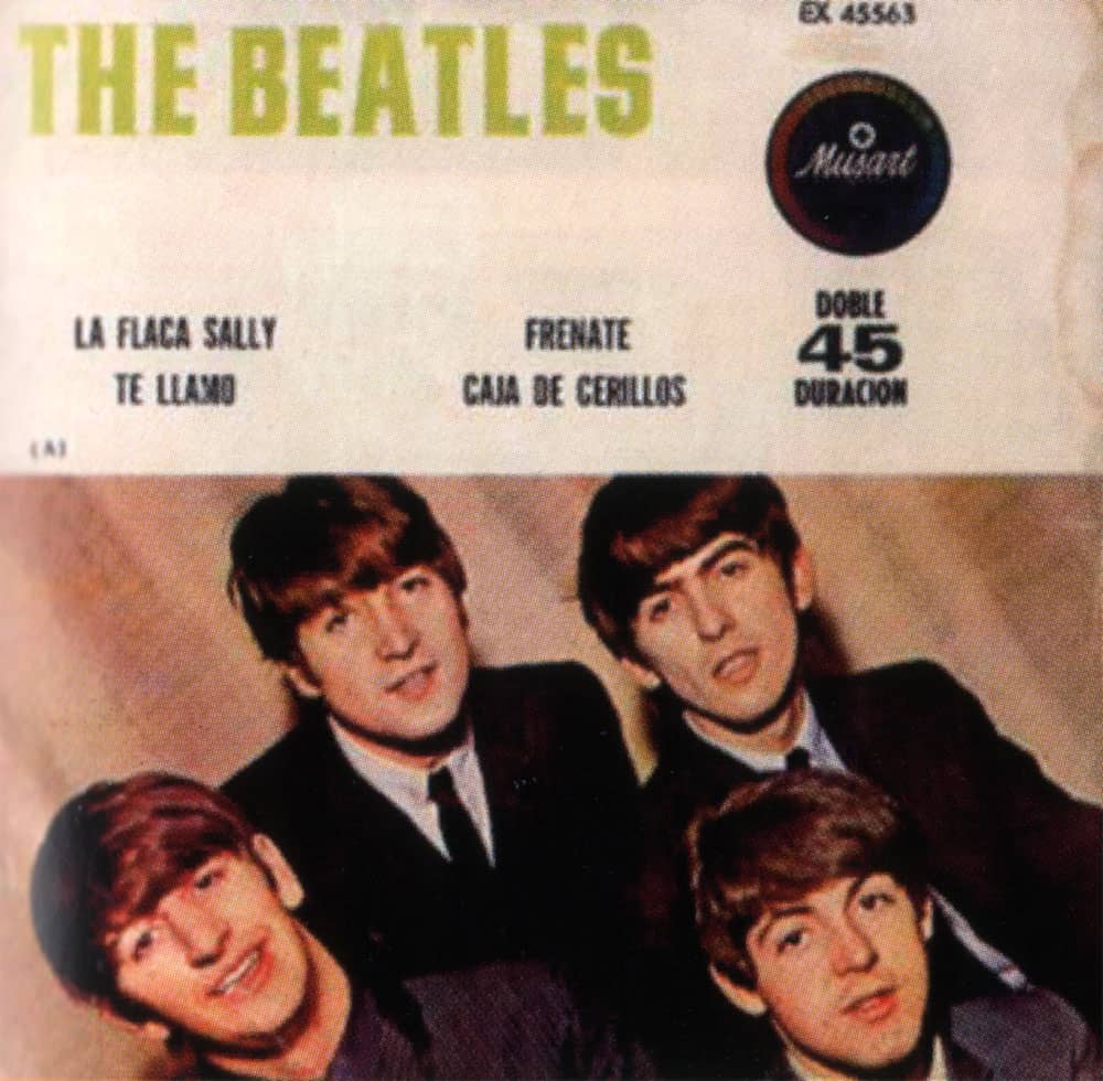 la flaca sally ep artwork  u2013 mexico  u2013 the beatles bible