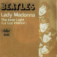 Lady Madonna single artwork - Mexico