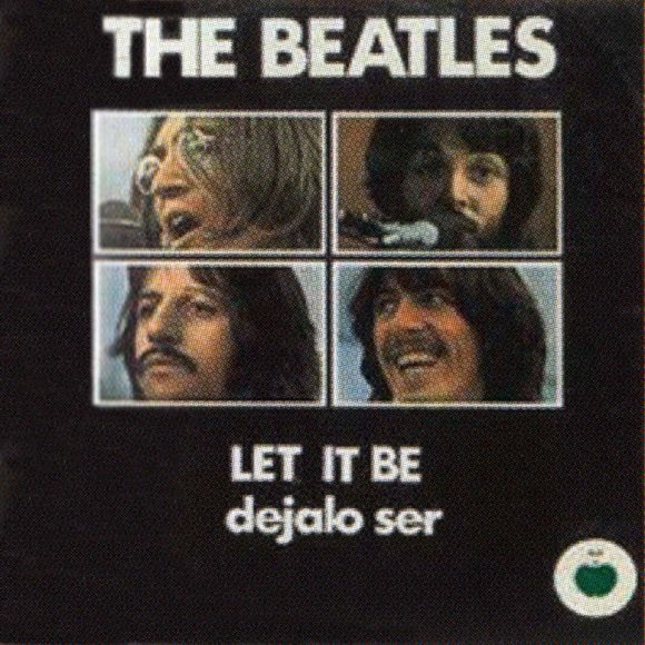 Let It Be single artwork - Mexico