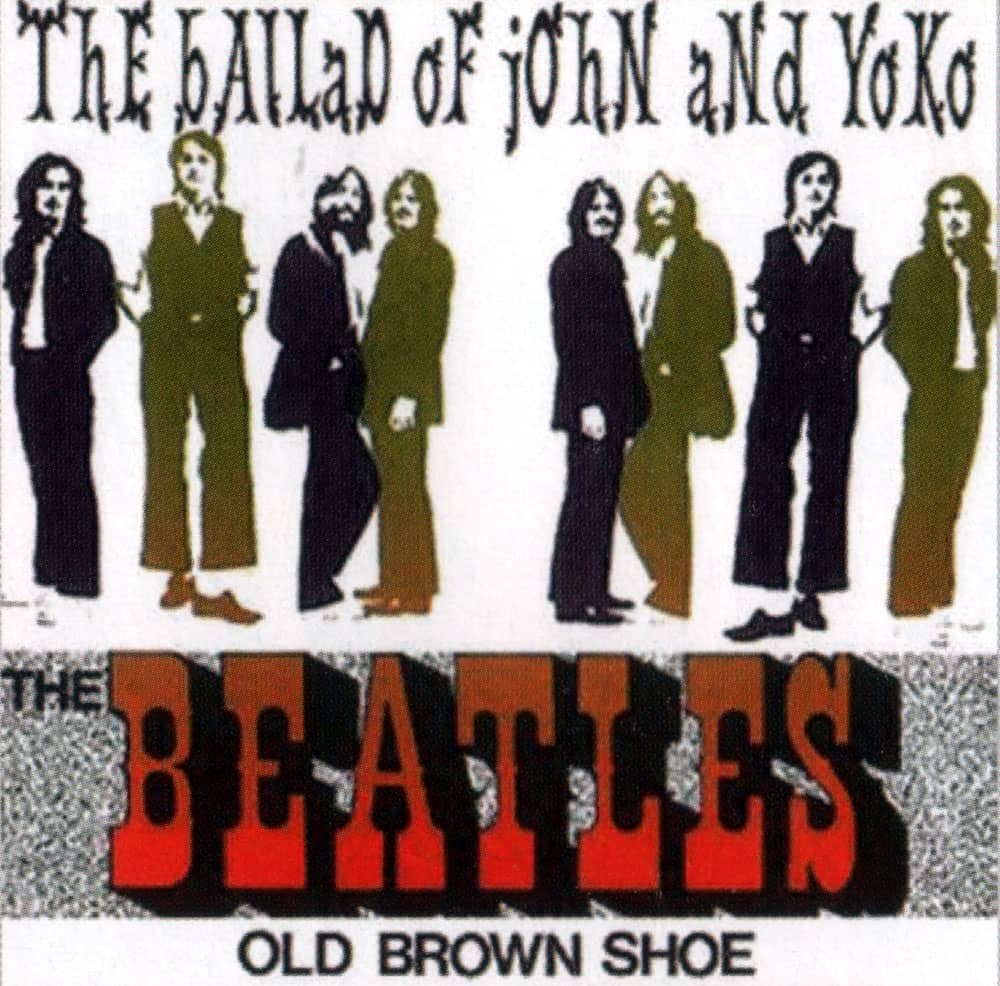 The Ballad Of John And Yoko single artwork - Netherlands