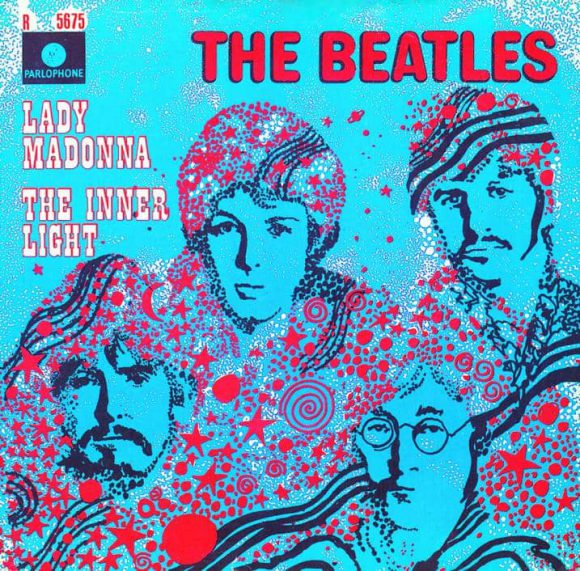 Lady Madonna single artwork – Netherlands