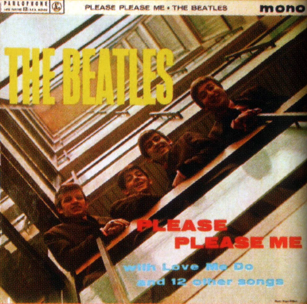 Please Please Me Album Artwork Netherlands The Beatles