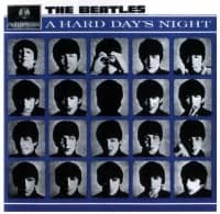 A Hard Day's Night album artwork - New Zealand