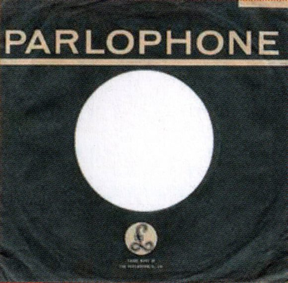Parlophone single sleeve, 1964-68 - New Zealand