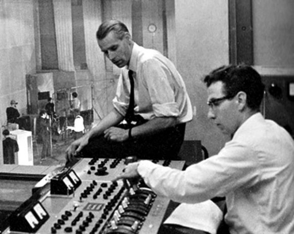 George Martin and Norman Smith
