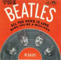 All You Need Is Love single artwork – Norway