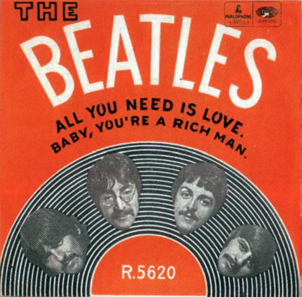 All You Need Is Love single artwork - Norway
