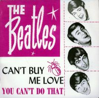 Can't Buy Me Love single artwork – Norway