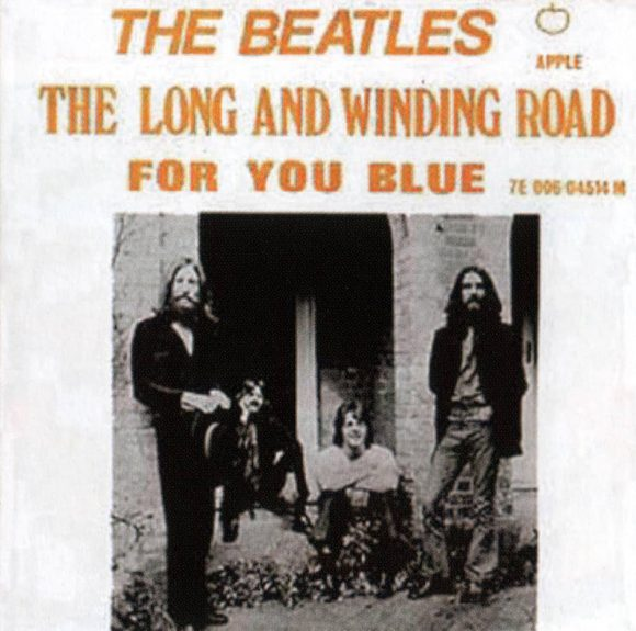 The Long And Winding Road single artwork - Norway