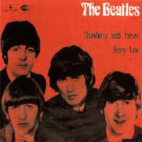 Strawberry Fields Forever/Penny Lane single artwork – Norway