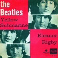Yellow Submarine/Eleanor Rigby single artwork – Norway