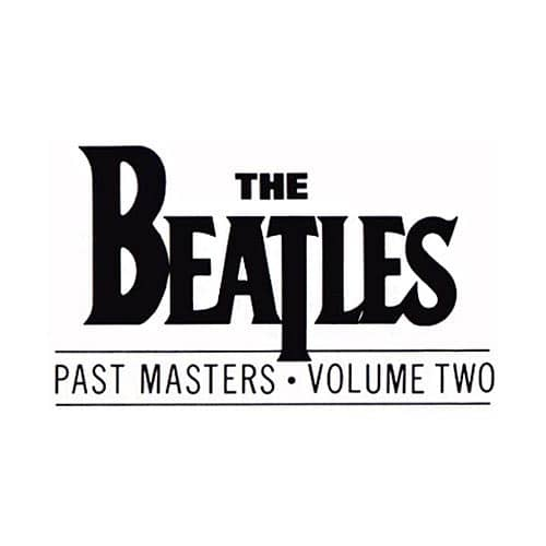 Past Masters Volume Two album artwork