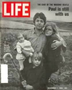 Life magazine with 'Paul is dead' cover
