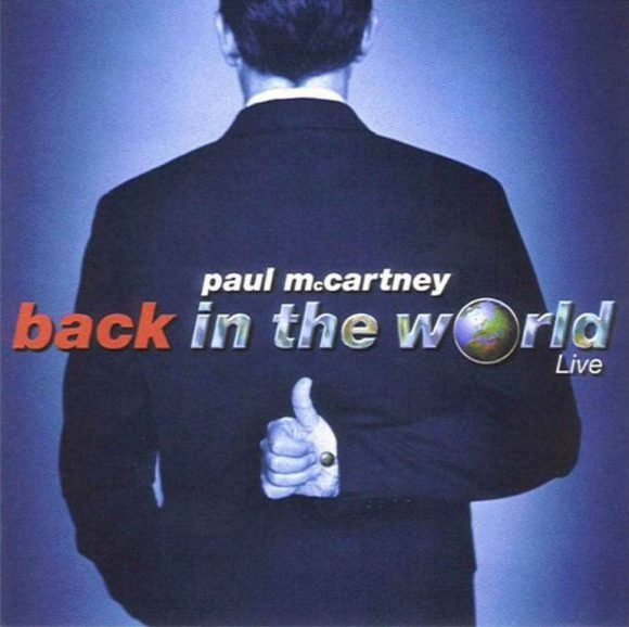 Back In The World album artwork - Paul McCartney