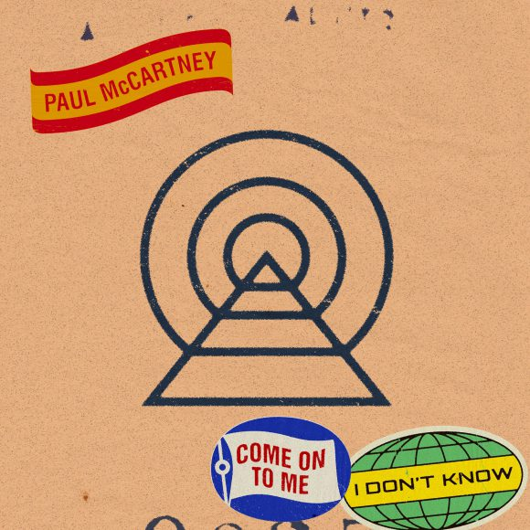 Paul McCartney – Come On To Me single cover artwork