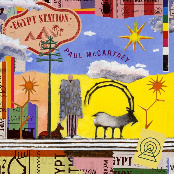 Paul McCartney – Egypt Station cover artwork