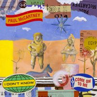 Paul McCartney – I Dont Know single cover artwork