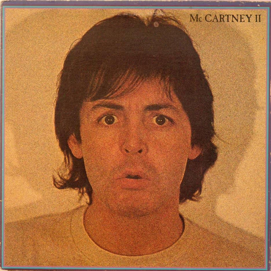 McCartney II Album Artwork Paul
