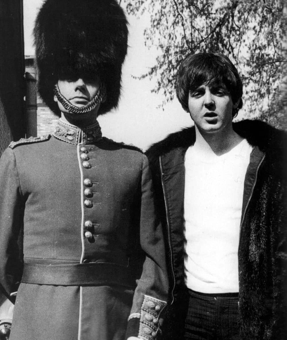 Paul McCartney With Victor Spinetti 1965