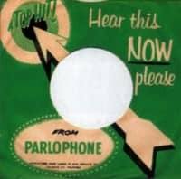 Parlophone single sleeve – Philippines