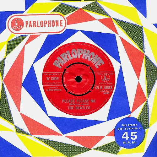 Please Please Me single - United Kingdom
