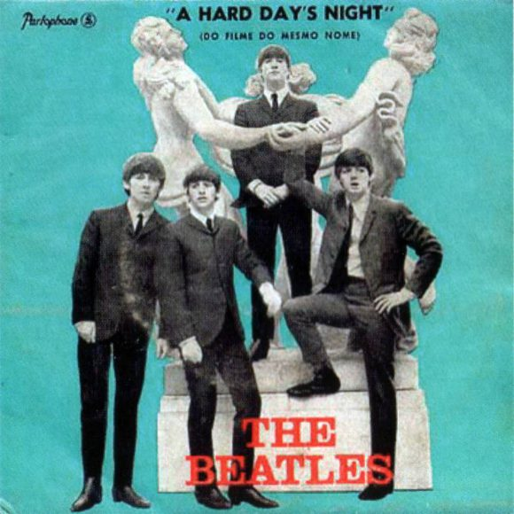 A Hard Day's Night EP artwork - Portugal