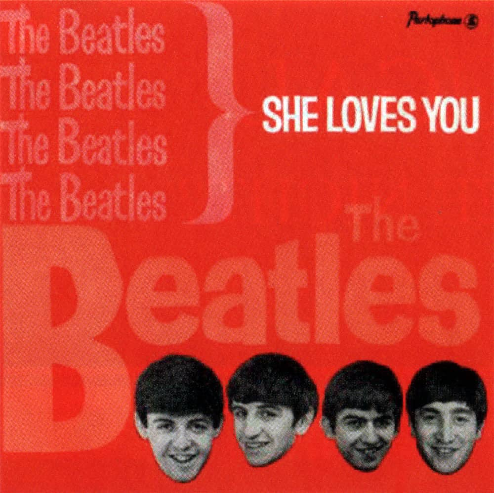 She Loves You EP artwork - Portugal