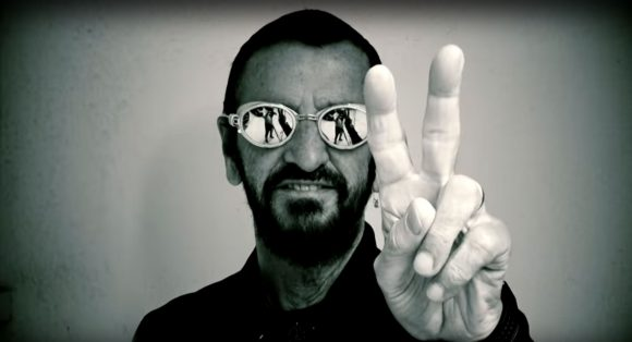 Image from Ringo Starr's Give More Love video (2018)