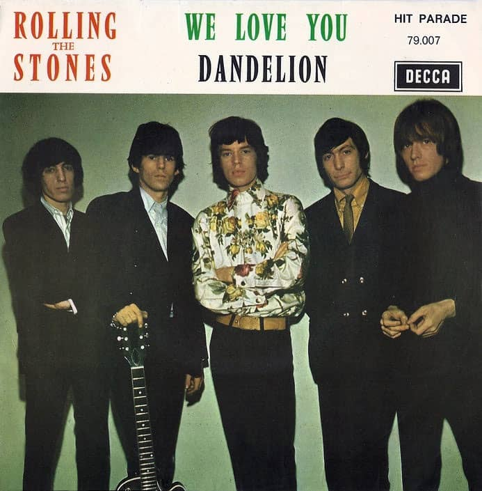 Cover artwork for We Love You by The Rolling Stones
