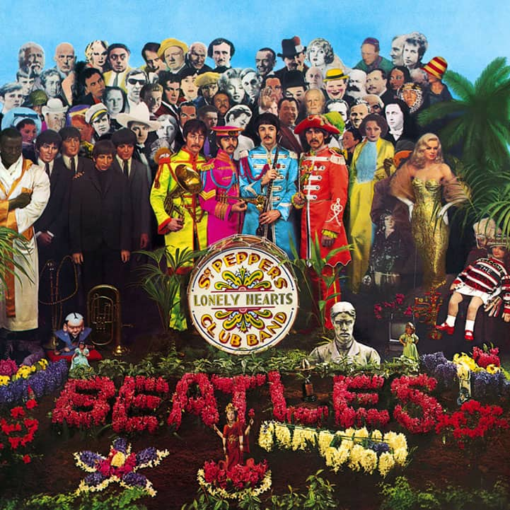 Sgt Pepper's Lonely Hearts Club Band album artwork
