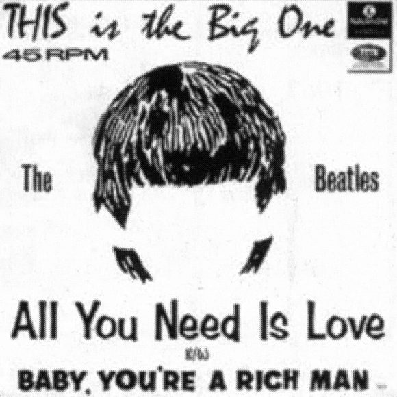 All You Need Is Love single artwork - South Africa