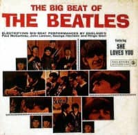 The Big Beat Of The Beatles album artwork – South Africa