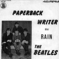 Paperback Writer single artwork – South Africa