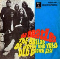 The Ballad Of John And Yoko single artwork - Spain