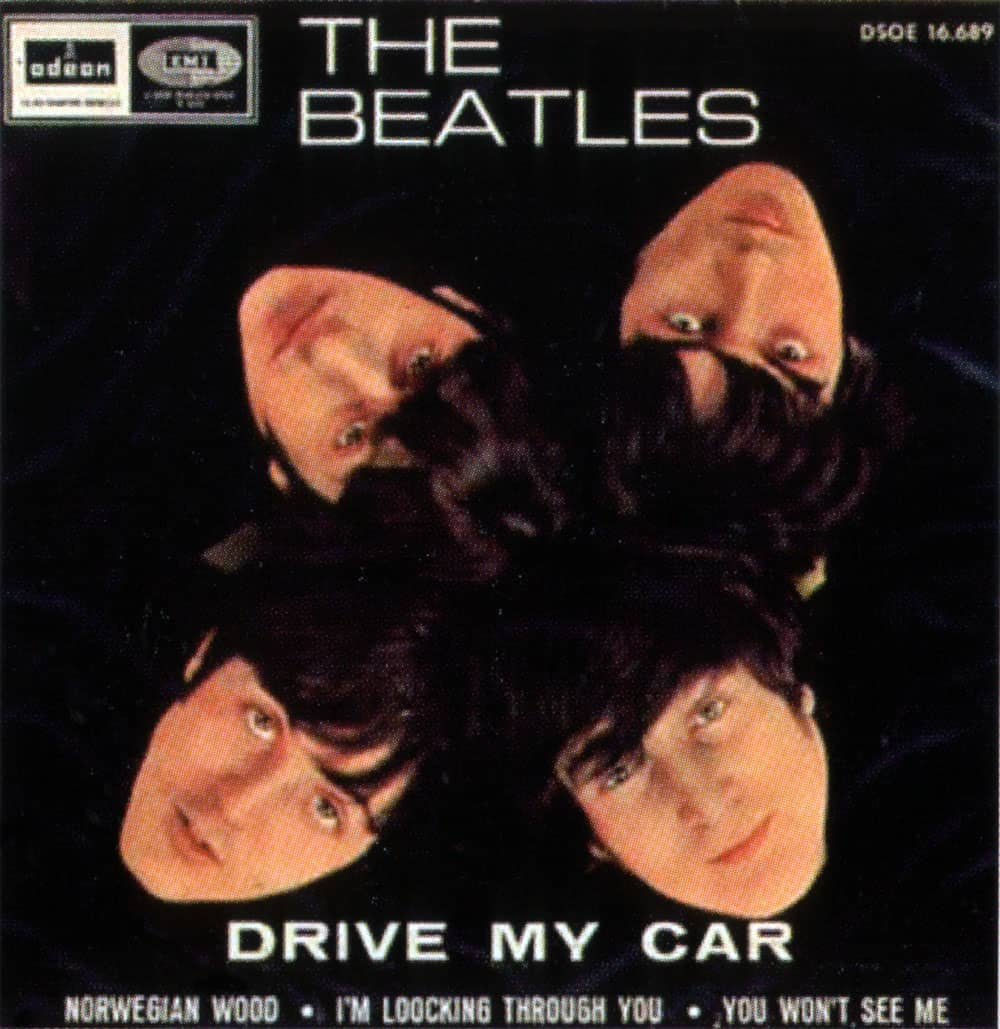 Drive My Car EP artwork - Spain