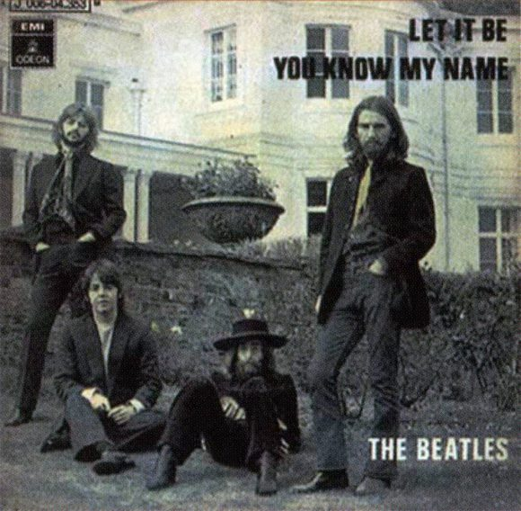 Let It Be single artwork - Spain