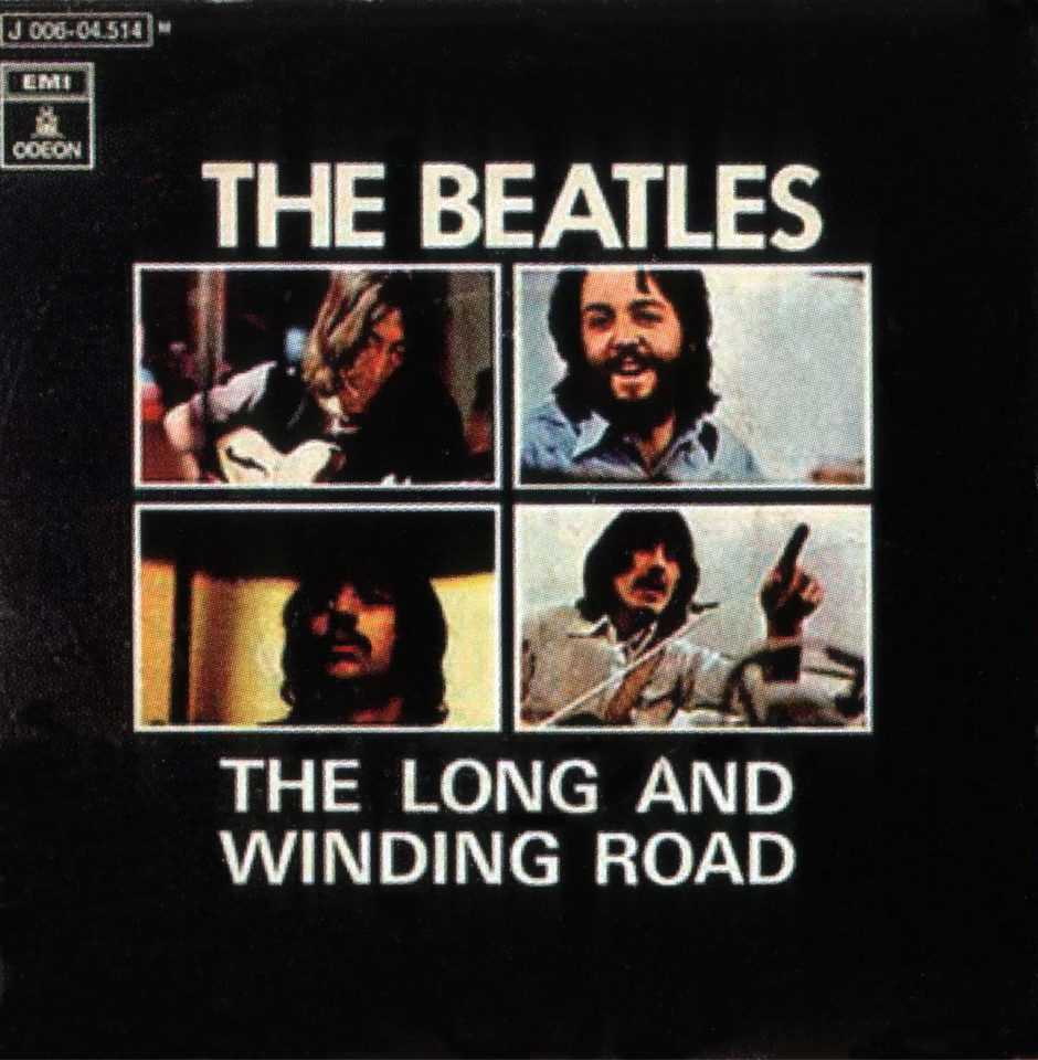 The Long And Winding Road single artwork – Spain