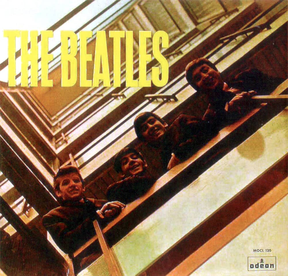 Please Please Me album artwork - Spain