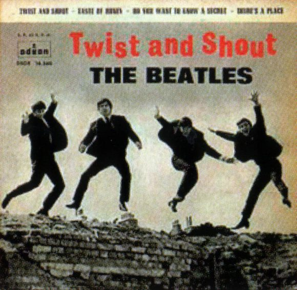 Twist And Shout EP artwork - Spain