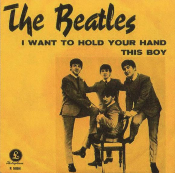 I Want To Hold Your Hand single artwork - Sweden