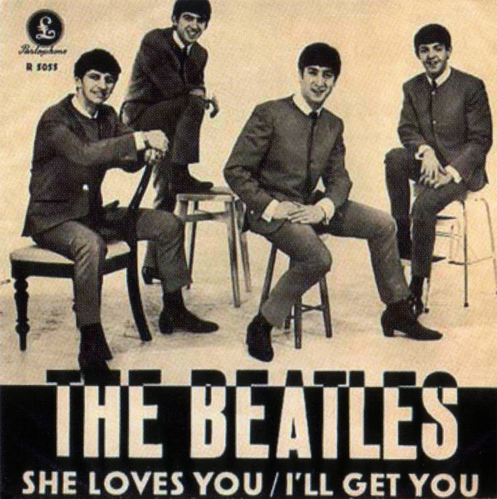She Loves You single artwork - Sweden