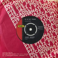 Tommy Quickly–Tip Of My Tongue UK single