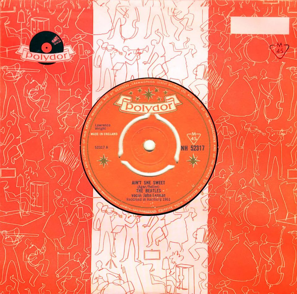Ain't She Sweet by The Beatles, UK single, 1964