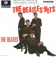 The Beatles' Hits EP artwork - United Kingdom