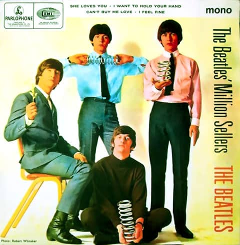 The Beatles' Million Sellers EP artwork - United Kingdom